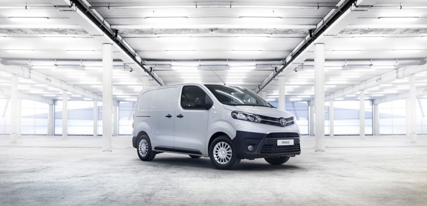 2016 Toyota Proace van makes an official debut Image #469486