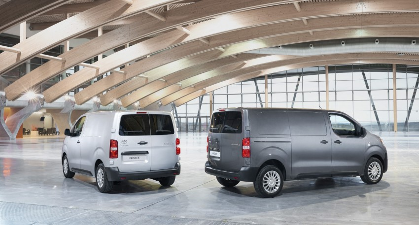 2016 Toyota Proace van makes an official debut Image #469468