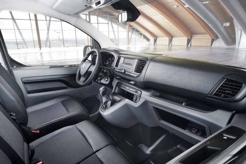 2016 Toyota Proace van makes an official debut Image #469510