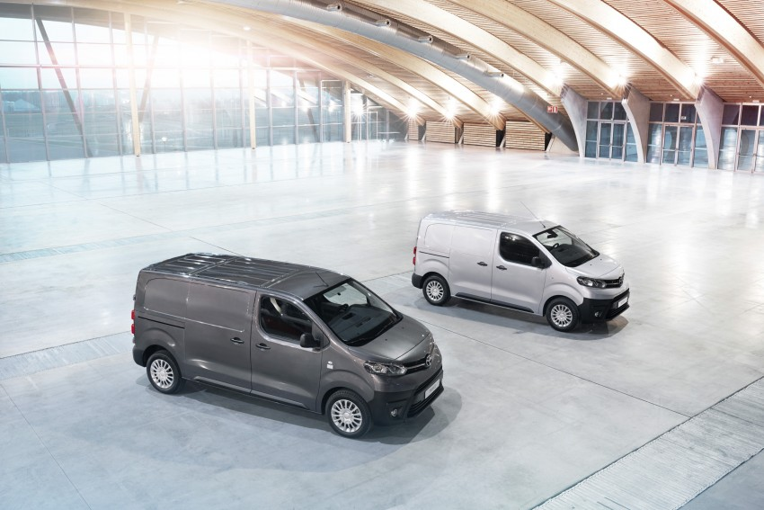 2016 Toyota Proace van makes an official debut Image #469469