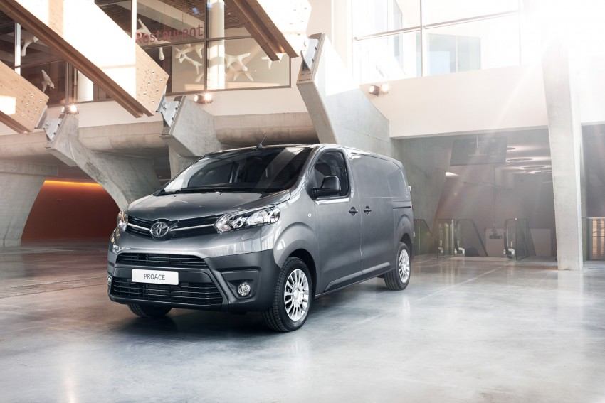 2016 Toyota Proace van makes an official debut Image #469519