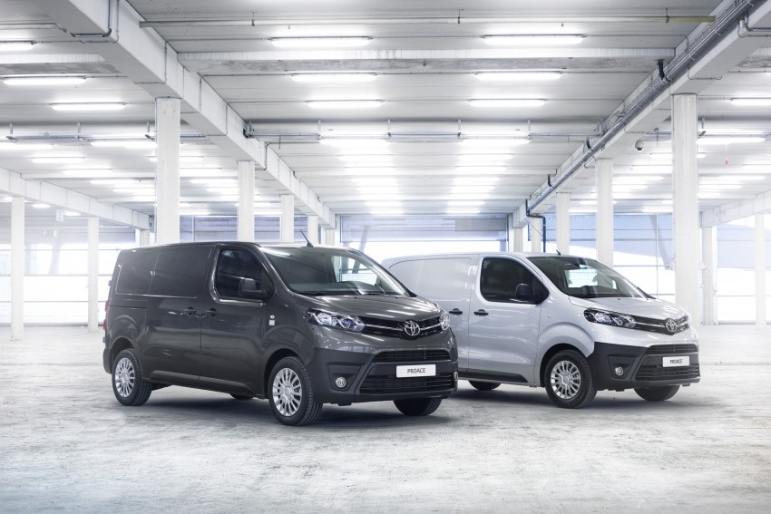 2016 Toyota Proace van makes an official debut Image #469470