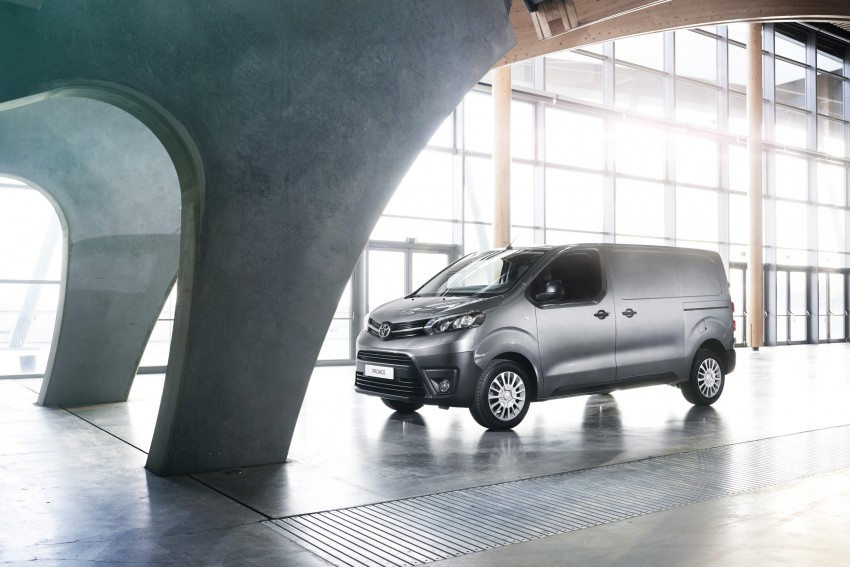 2016 Toyota Proace van makes an official debut Image #469521