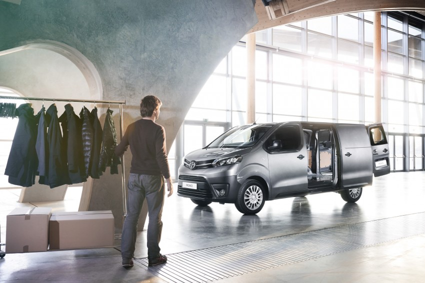 2016 Toyota Proace van makes an official debut Image #469522