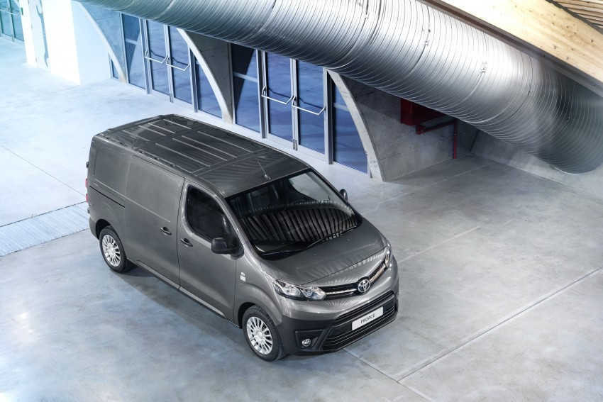 2016 Toyota Proace van makes an official debut Image #469523