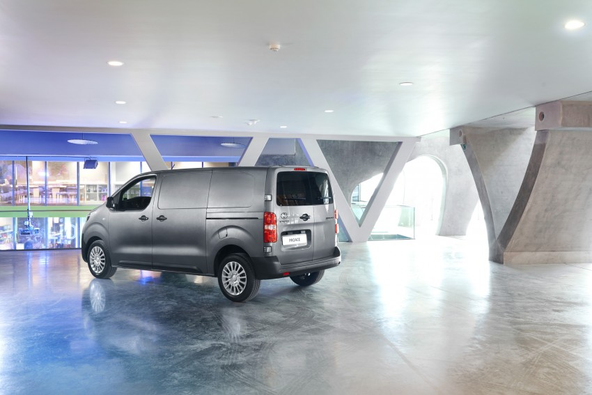 2016 Toyota Proace van makes an official debut Image #469524