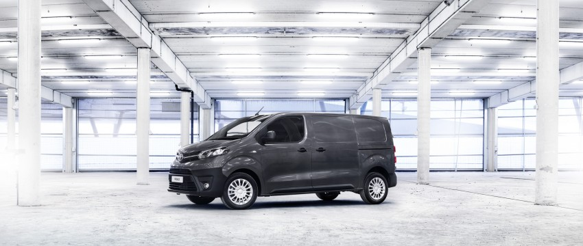 2016 Toyota Proace van makes an official debut Image #469526