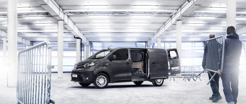 2016 Toyota Proace van makes an official debut Image #469527