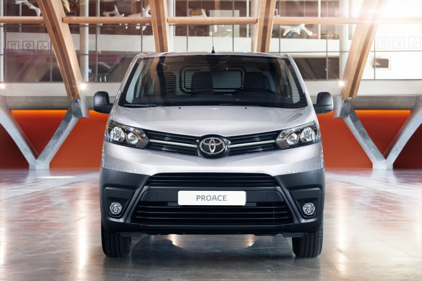 2016 Toyota Proace van makes an official debut Image #469472
