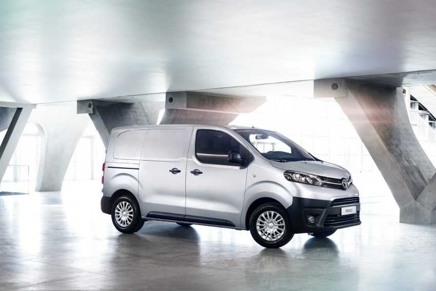 2016 Toyota Proace van makes an official debut Image #469473