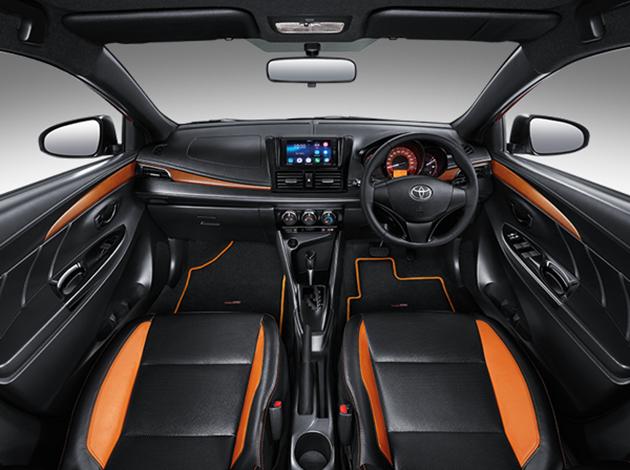 2016 Toyota Yaris TRD Sportivo interior 1