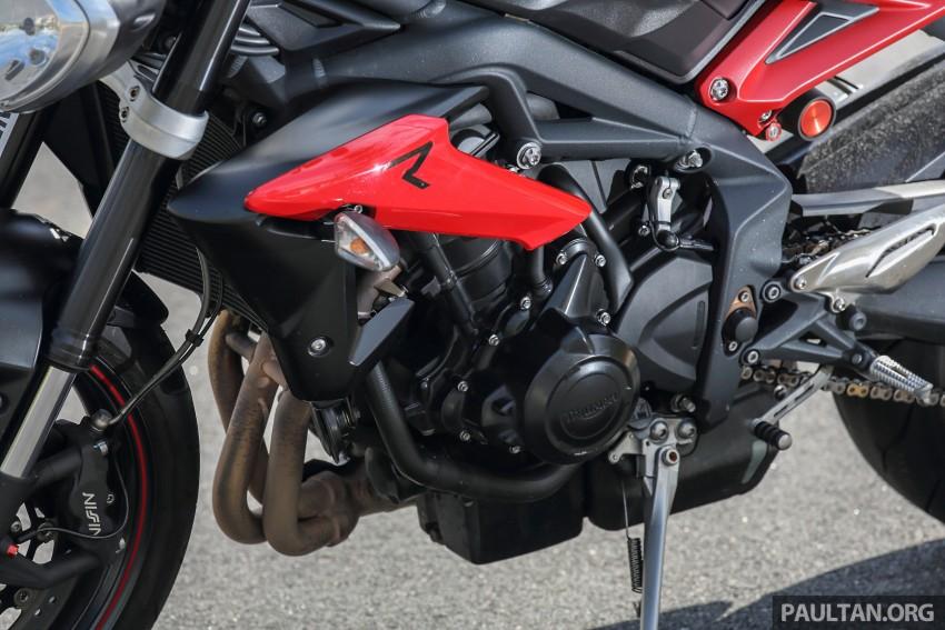REVIEW: 2016 Triumph Street Triple R – fast bike fun Image #455182