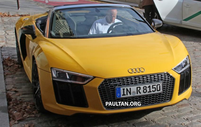 SPYSHOTS: Audi R8 Spyder caught completely naked Image #458941