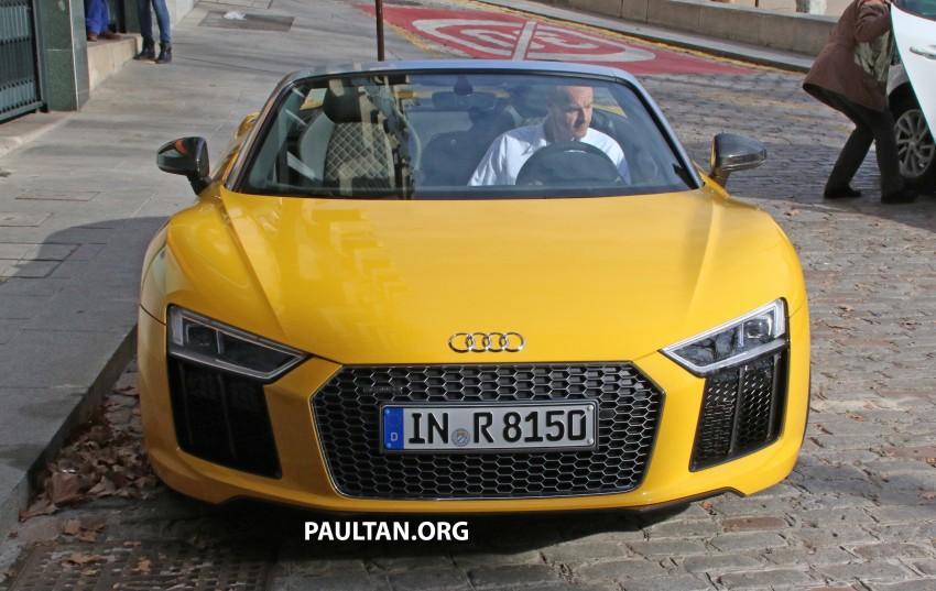 SPYSHOTS: Audi R8 Spyder caught completely naked Image #458942