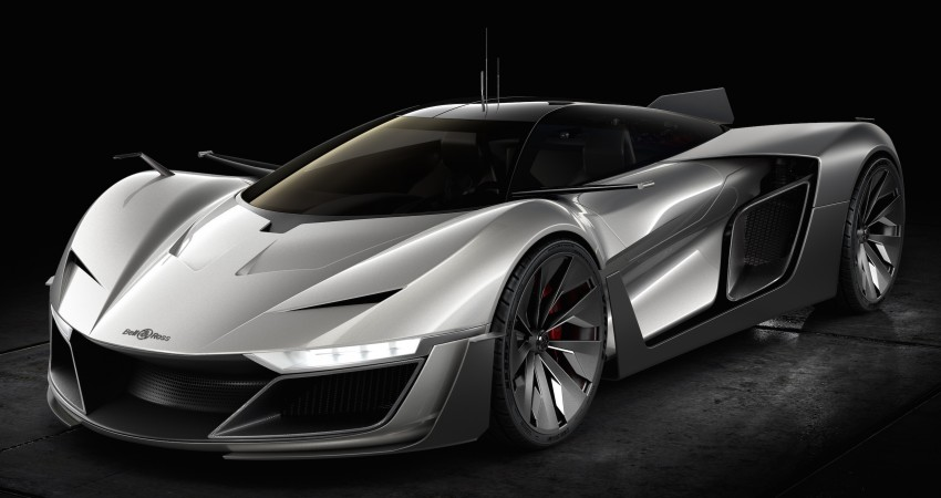 Bell & Ross AeroGT concept supercar breaks cover Image #463806