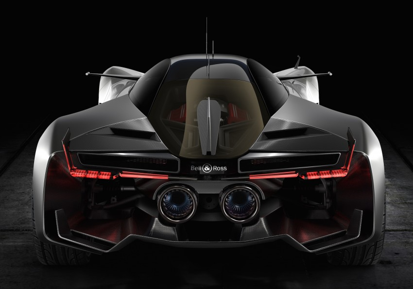 Bell & Ross AeroGT concept supercar breaks cover Image #463808