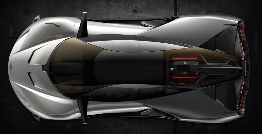 Bell & Ross AeroGT concept supercar breaks cover Image #463810