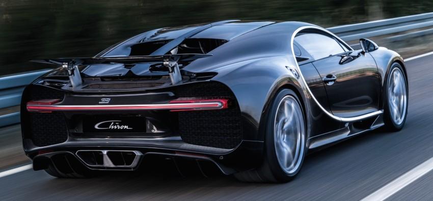 Bugatti Chiron debuts – 1,500 PS, 1,600 Nm, 420 km/h Image #450969