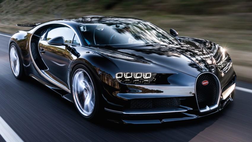Bugatti Chiron debuts – 1,500 PS, 1,600 Nm, 420 km/h Image #450971