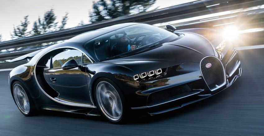 Bugatti Chiron debuts – 1,500 PS, 1,600 Nm, 420 km/h Image #450972