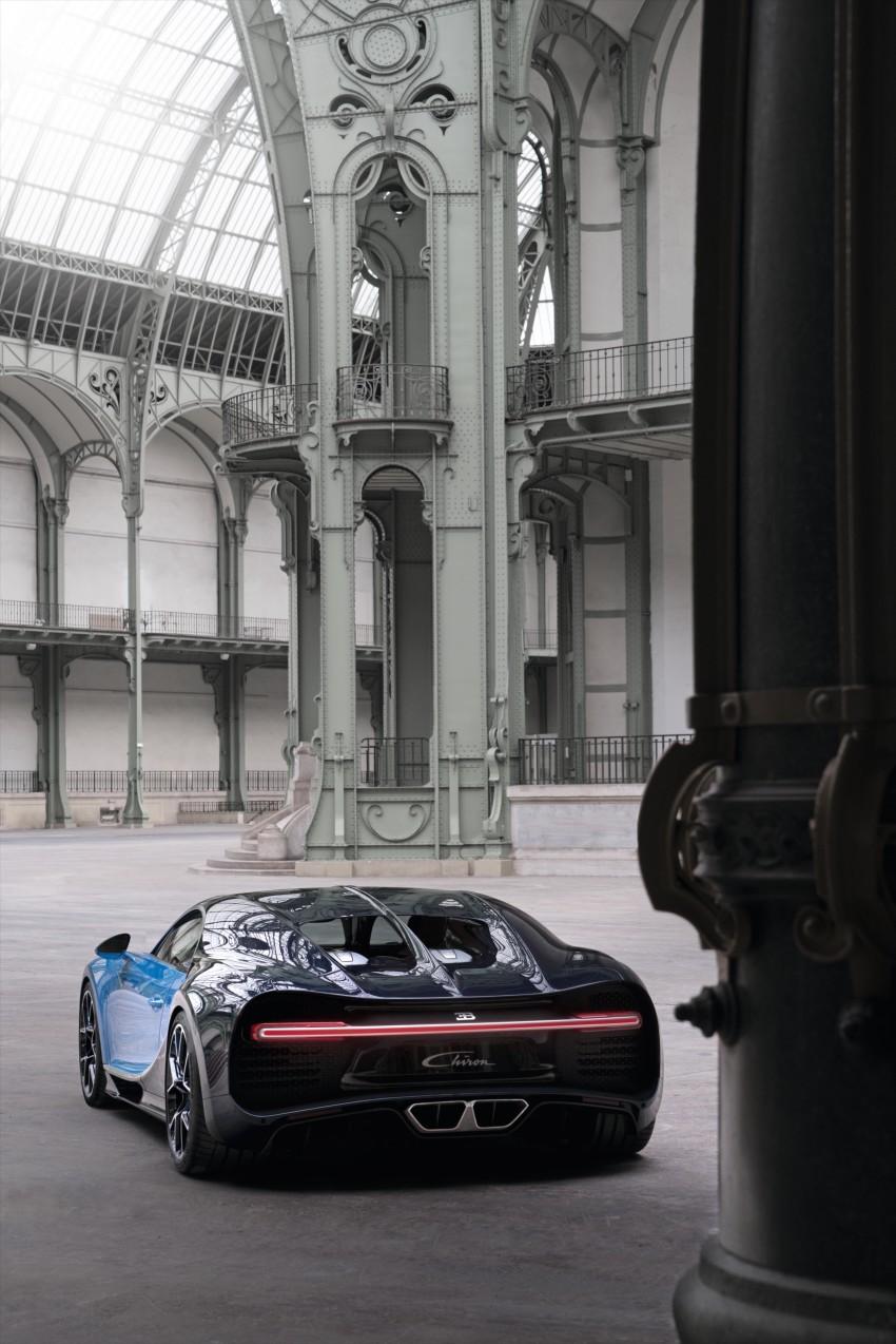 Bugatti Chiron debuts – 1,500 PS, 1,600 Nm, 420 km/h Image #450975