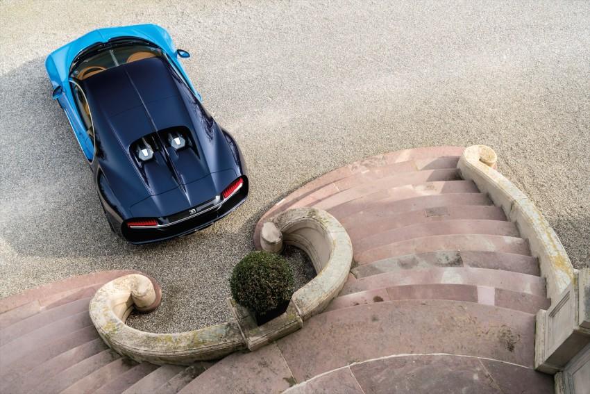 Bugatti Chiron debuts – 1,500 PS, 1,600 Nm, 420 km/h Image #450979