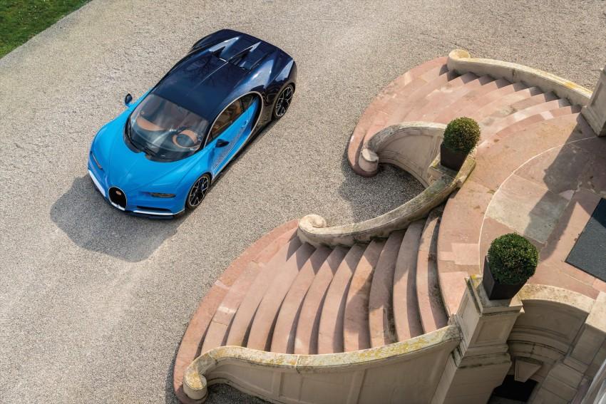Bugatti Chiron debuts – 1,500 PS, 1,600 Nm, 420 km/h Image #450981