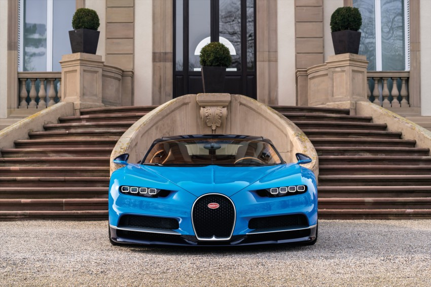 Bugatti Chiron debuts – 1,500 PS, 1,600 Nm, 420 km/h Image #450984