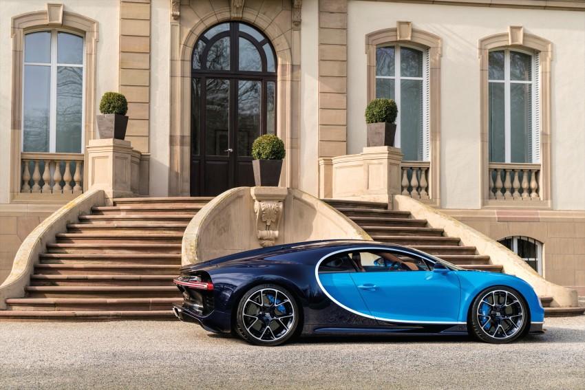 Bugatti Chiron debuts – 1,500 PS, 1,600 Nm, 420 km/h Image #450986
