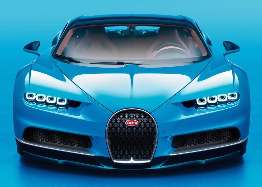 Bugatti Chiron debuts – 1,500 PS, 1,600 Nm, 420 km/h Image #450991