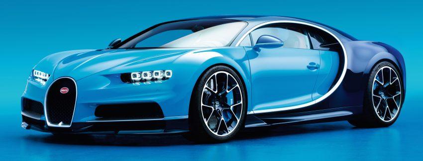 Bugatti Chiron debuts – 1,500 PS, 1,600 Nm, 420 km/h Image #450992