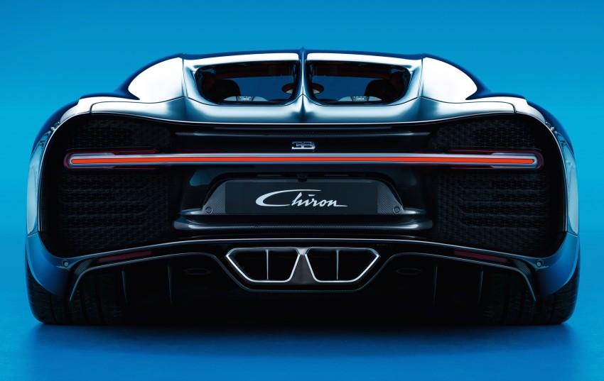 Bugatti Chiron debuts – 1,500 PS, 1,600 Nm, 420 km/h Image #450994