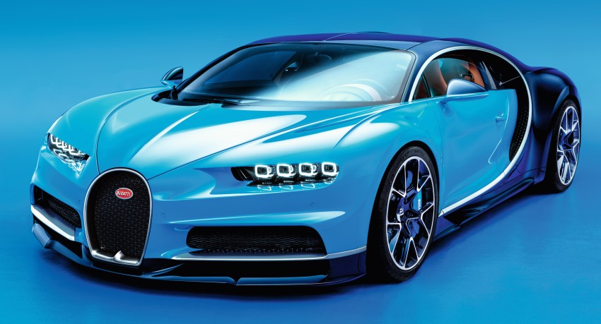 Bugatti Chiron debuts – 1,500 PS, 1,600 Nm, 420 km/h Image #450995