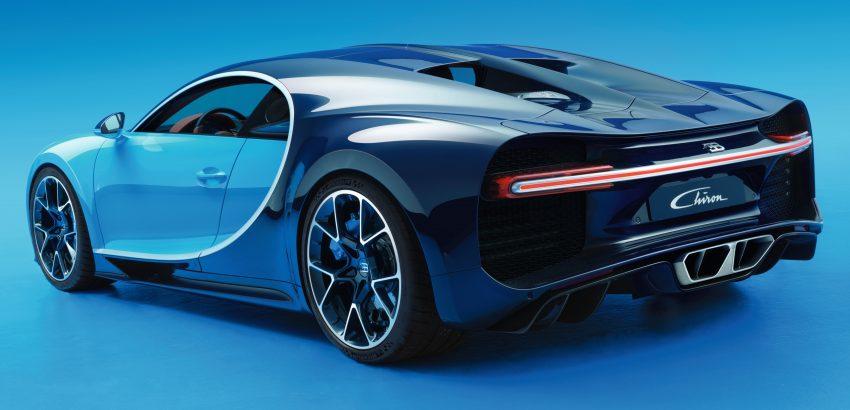 Bugatti Chiron debuts – 1,500 PS, 1,600 Nm, 420 km/h Image #450996