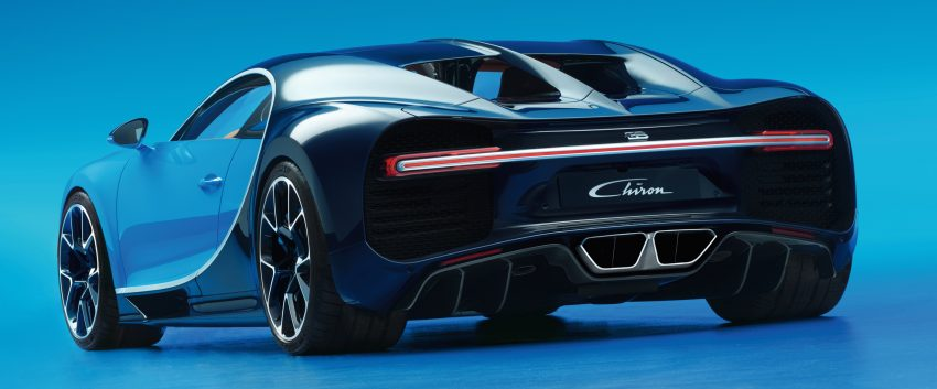 Bugatti Chiron debuts – 1,500 PS, 1,600 Nm, 420 km/h Image #450997