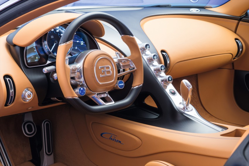 Bugatti Chiron debuts – 1,500 PS, 1,600 Nm, 420 km/h Image #451002