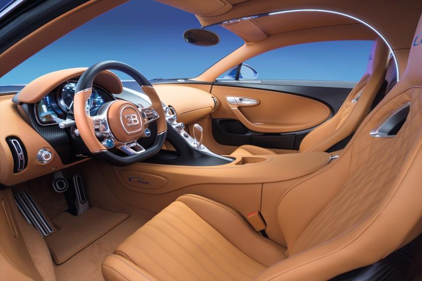 Bugatti Chiron debuts – 1,500 PS, 1,600 Nm, 420 km/h Image #451003
