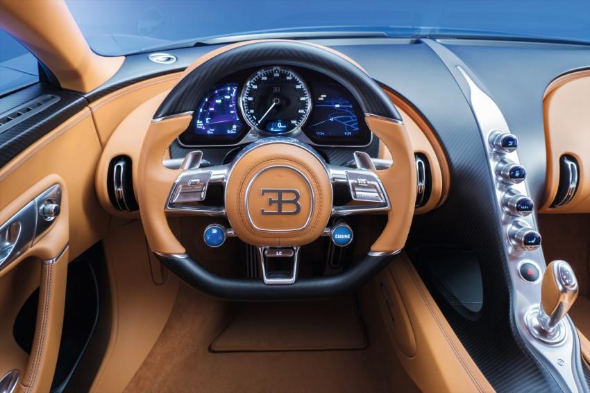 Bugatti Chiron debuts – 1,500 PS, 1,600 Nm, 420 km/h Image #451005