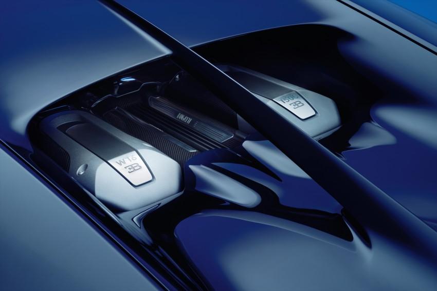 Bugatti Chiron debuts – 1,500 PS, 1,600 Nm, 420 km/h Image #451006