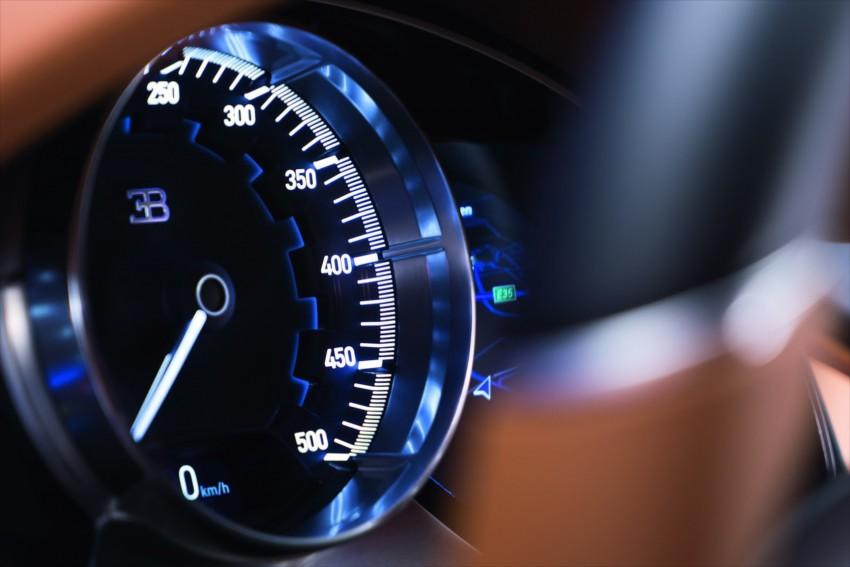 Bugatti Chiron debuts – 1,500 PS, 1,600 Nm, 420 km/h Image #451017