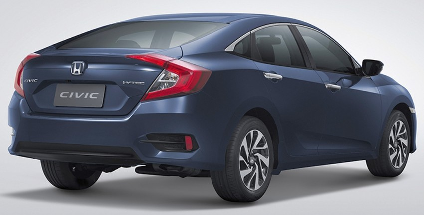 2016 Honda Civic launched in Thailand – 1.8 i-VTEC and 1.5 VTEC Turbo, from RM101k to RM139k Image #459403