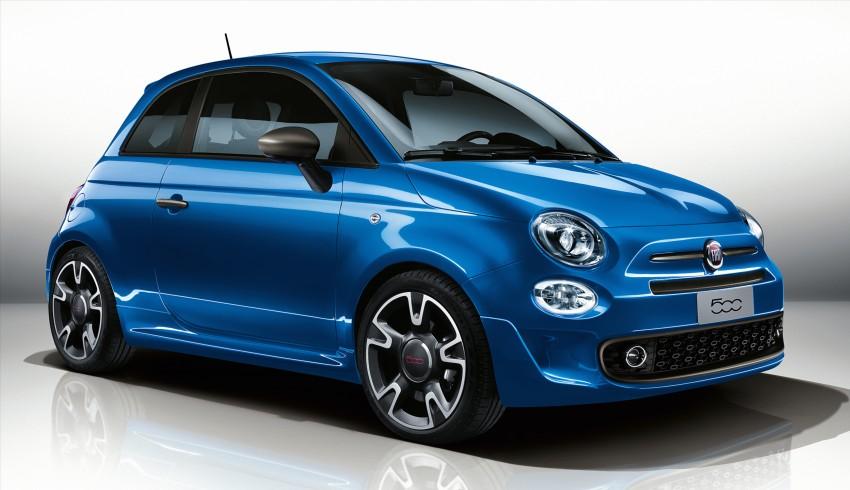 Fiat 500S facelift debuts in Geneva – new looks, tech Image #452696