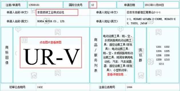 Honda UR-V – trademarks filed for new flagship SUV Image #467403