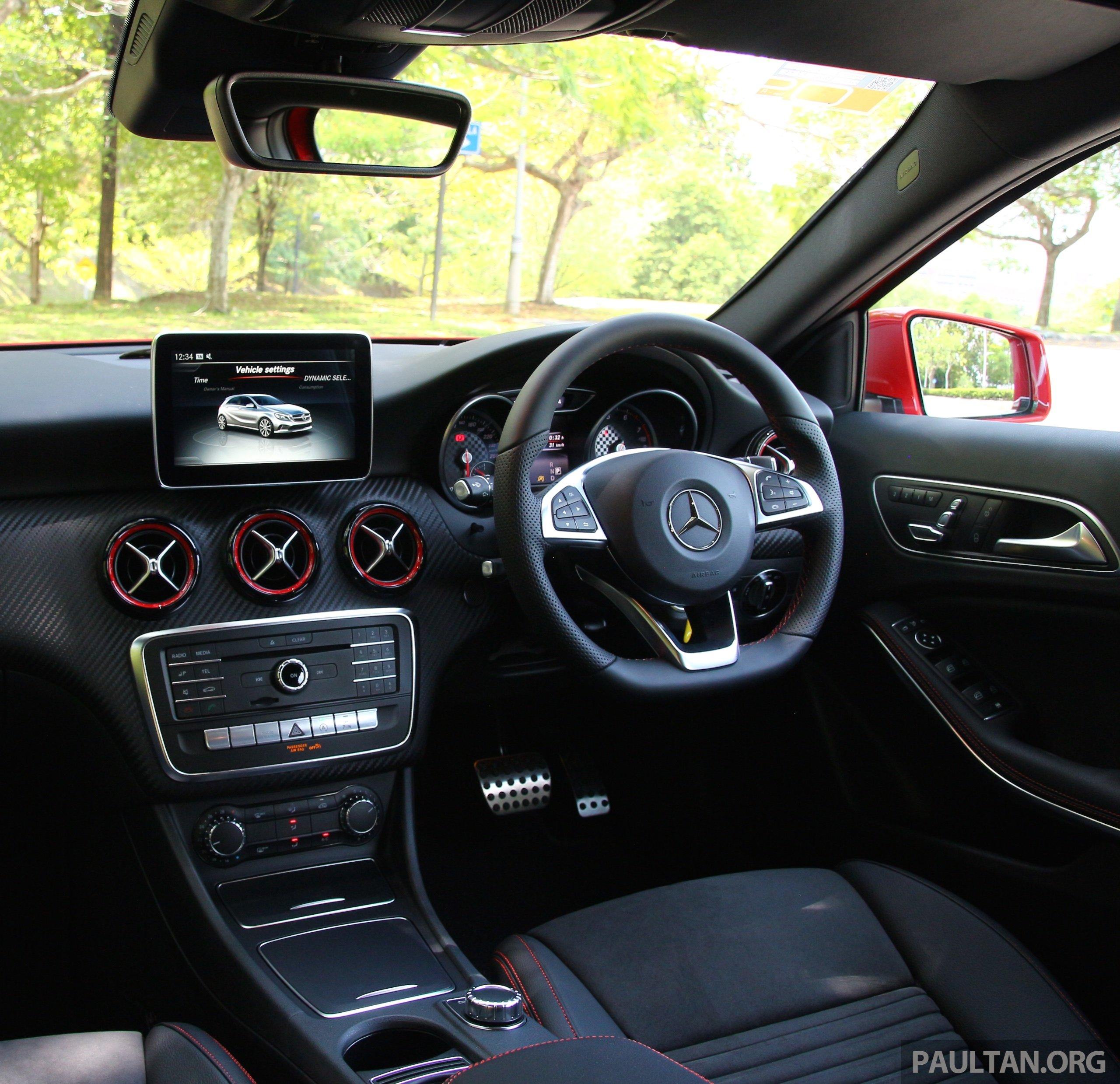 Mercedes A250 Sport: DRIVEN: Mercedes-Benz A250 Sport Facelift In M'sia Paul