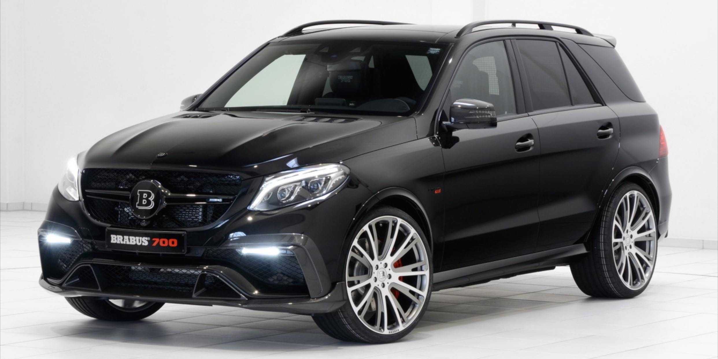 Brabus Gle 700 Mercedes Amg Gle 63 With 700 Ps