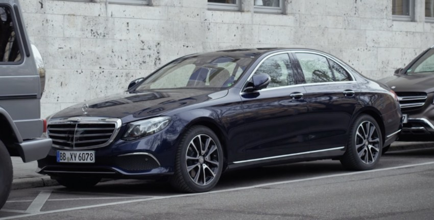 VIDEO: W213 Mercedes E-Class Remote Parking Pilot Image #456592