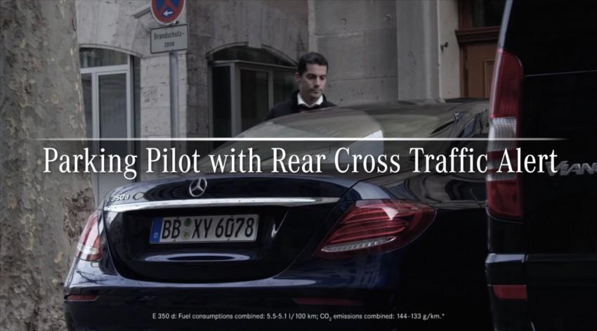 VIDEO: W213 Mercedes E-Class Remote Parking Pilot Image #456604