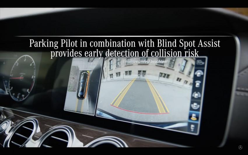VIDEO: W213 Mercedes E-Class Remote Parking Pilot Image #456611