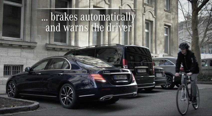 VIDEO: W213 Mercedes E-Class Remote Parking Pilot Image #456615