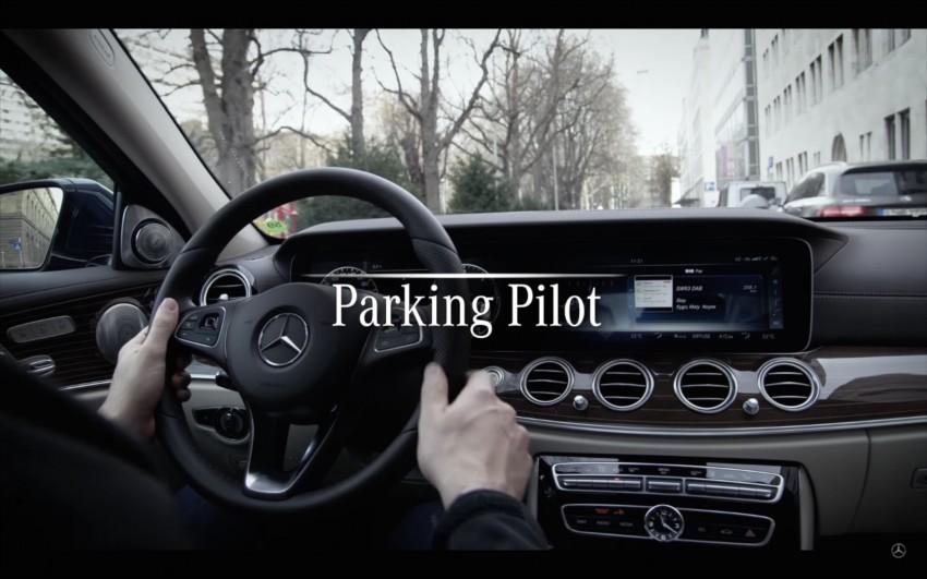 VIDEO: W213 Mercedes E-Class Remote Parking Pilot Image #456618